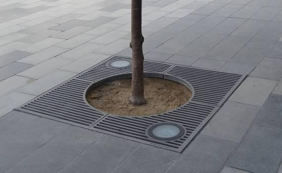 Grille arbre HORIZONT CIRCLE