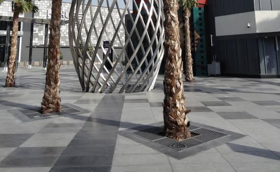 Grille arbre HORIZONT SQUARE