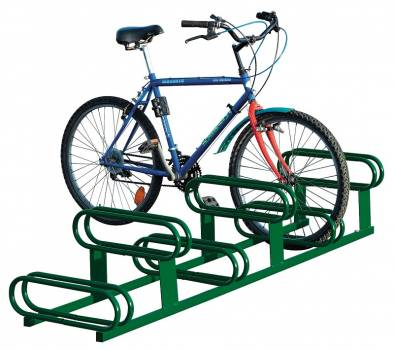 support vélos décalés