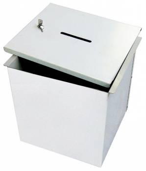 urne électorale métallique