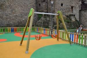 portique enfants avec sièges