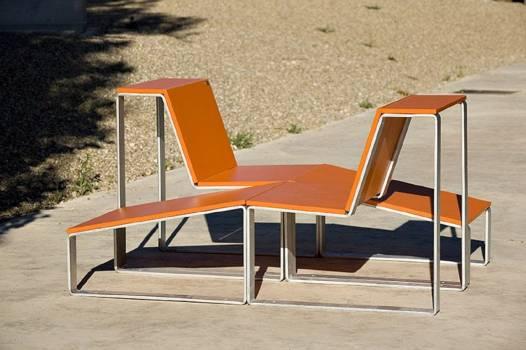 "chaise longue ""STREET"""