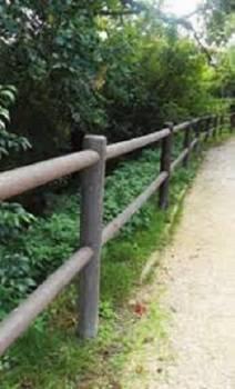 clôture double lisses