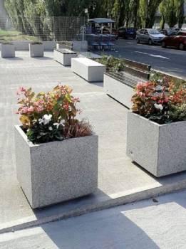 Jardinière CUBE carré